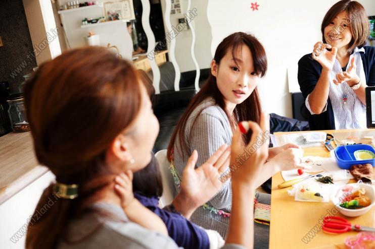 تهیه ناهار مدرسه؛ هنر ژاپنی