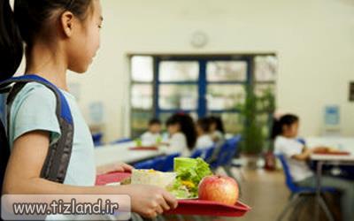 آیا کودک در زمان خوردن چاشت مورد قلدری قرار می گیرد؟