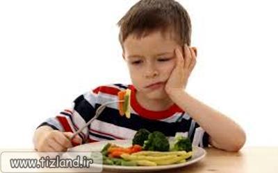 باکودکانی که اشتها به غذا ندارند چه کنیم؟