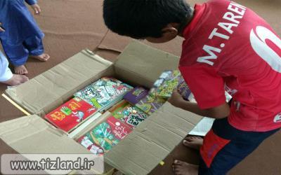اهدای بیش از 50 عنوان از کتاب های نشر هوپا به کودکان