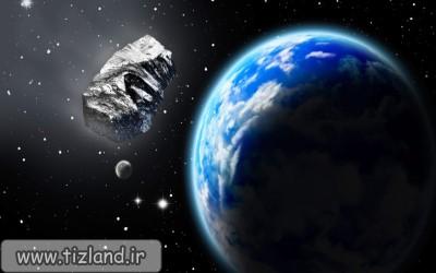 چرخش ماه دور زمین